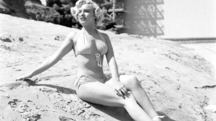 La Primera Escena De Desnudo De Marilyn Monroe Elimparcialcom