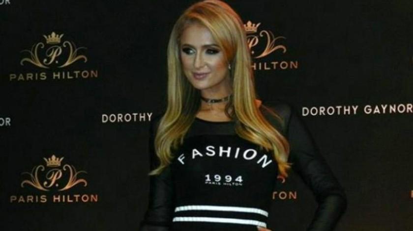 88eac5b05f Paris Hilton presenta línea de ropa en CDMX