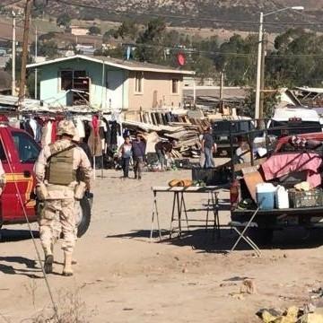 Se Registra Balacera En Terrazas Del Valle En Tijuana
