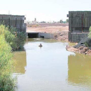 Resultado de imagen para aguas del rio nuevo en mexicali
