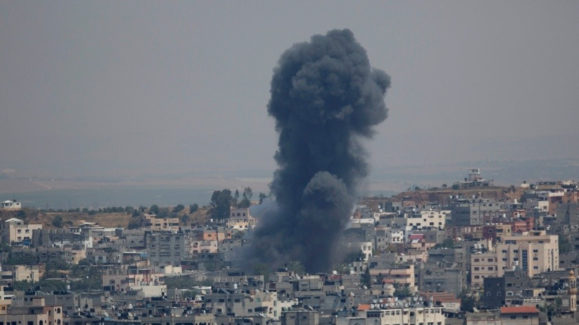 Eplosión causada en Israel.(Copyright 2019 The Associated Press. All rights reserved., AP)