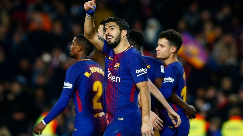 Luis Suárez(Copyright 2018 The Associated Press. All rights reserved., AP)
