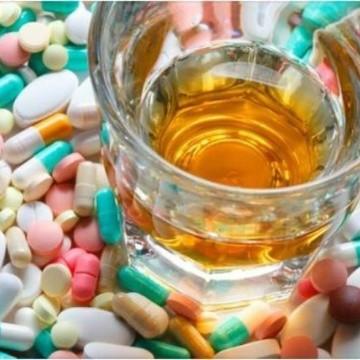 Pastillas colesterol y alcohol