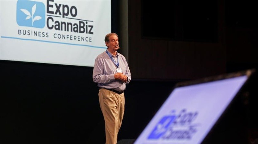 Vicente Fox asiste a ExpoCannaBiz Business Conference en Cartagena.(EFE)