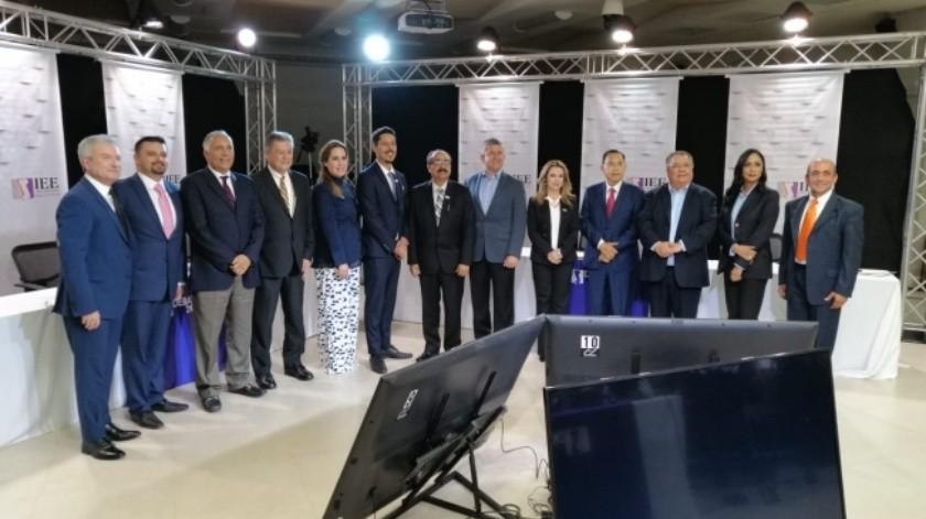 El debate entre candidatos a gobernador del IEEBC será el próximo domingo 12 de mayo.