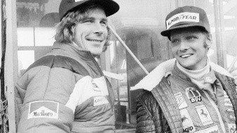 James Hunt vs Niki Lauda, rivalidad inmortalizada en cines