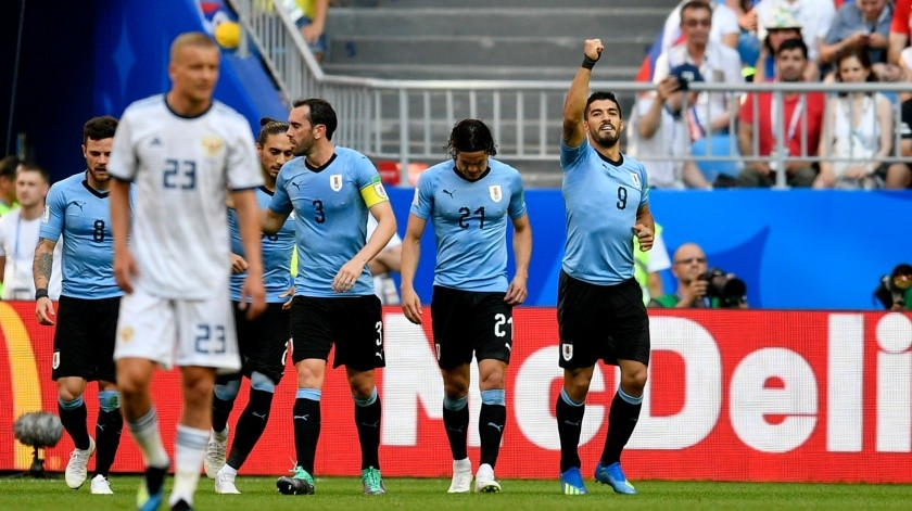 Russia Soccer WCup Uruguay Russia(Copyright 2018 The Associated Press. All rights reserved., AP)