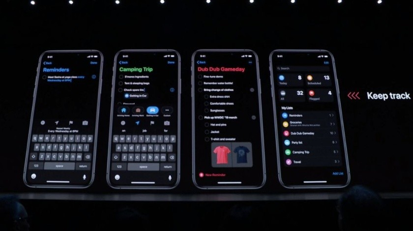 Apple anuncia modo oscuro para tu iPhone(Tomada de la Red)