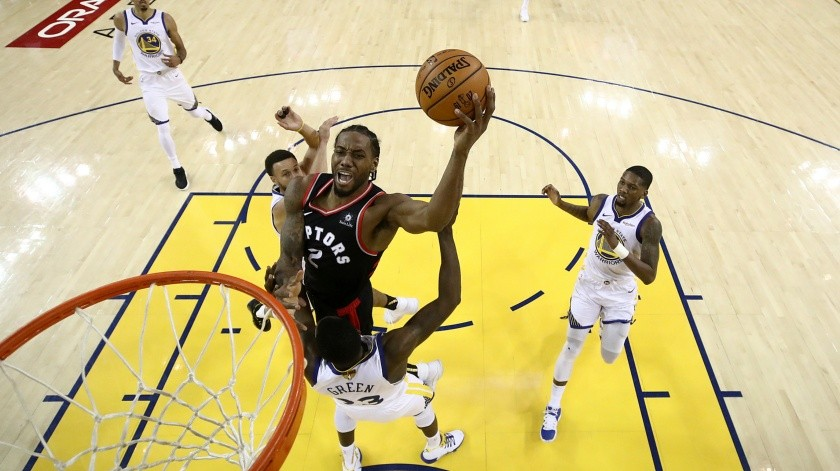 Raptors recuperan ventaja en Final contra Warriors(AP)