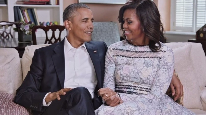 Barack y Michelle Obama producirán podcasts para Spotify(GH)