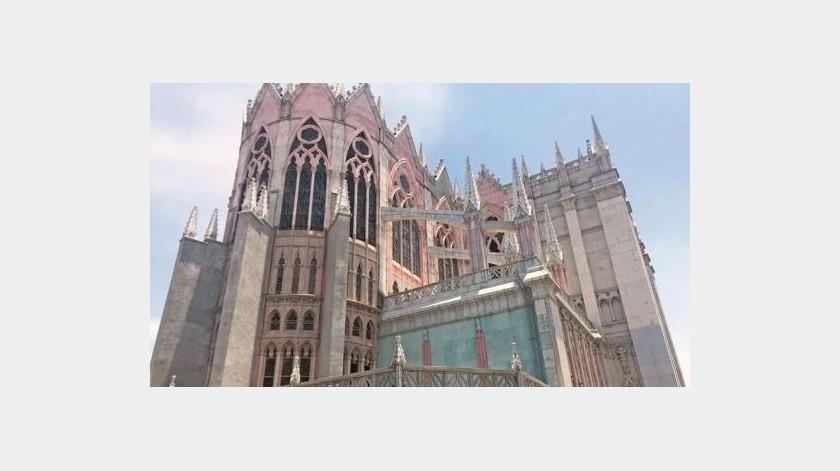 Un Templo Con Aire De Notre Dame Elimparcial Com