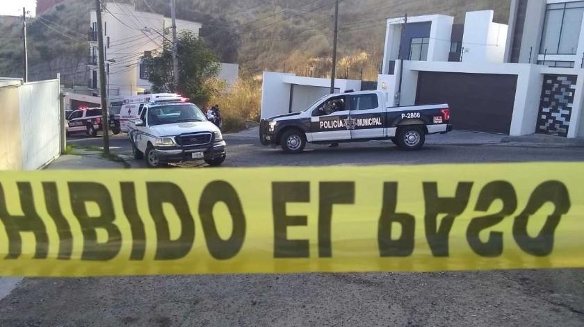 Los hechos se registraron en el fraccionamiento Lomas Conjunto Residencial.(Margarito Martínez)
