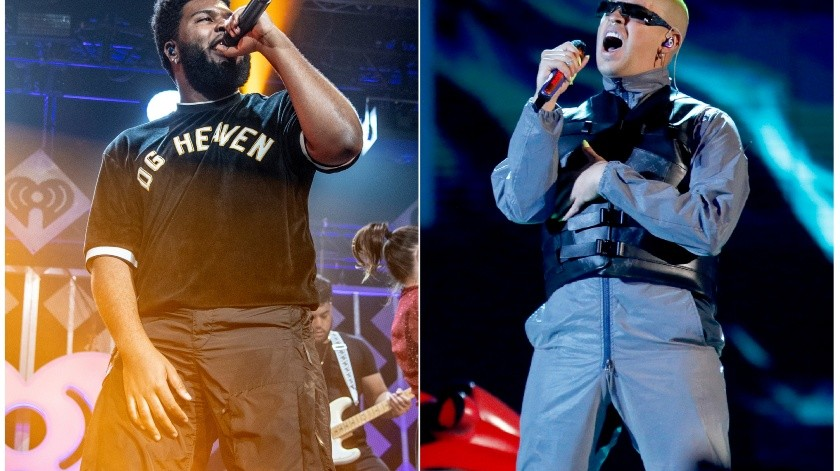 "Apple Music anunció el lunes 1 de julio del 2019 la gira de conciertos ""Up Next Live"", con artistas de su playlist que incluyen a Khalid y Bad Bunny.(AP)"