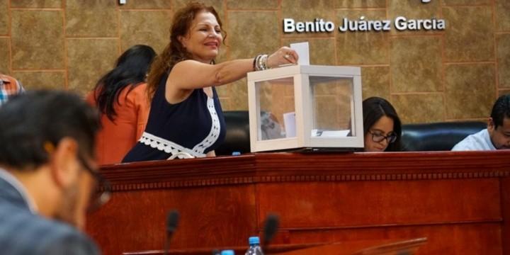 En sesión extraordinaria y con dispensa de trámite se realizó la votación hoy por la noche en el Congreso, tras la solicitud del diputado Víctor Morán Hernández de Morena.