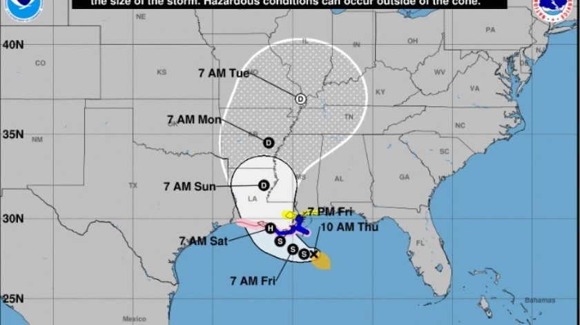 Tormenta Tropical 'Barry'(Especial)