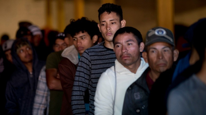 Migrantes ingresan a México en busca de cruzar el País para llegar a Estados Unidos.(Copyright 2018 The Associated Press. All rights reserved, AP)