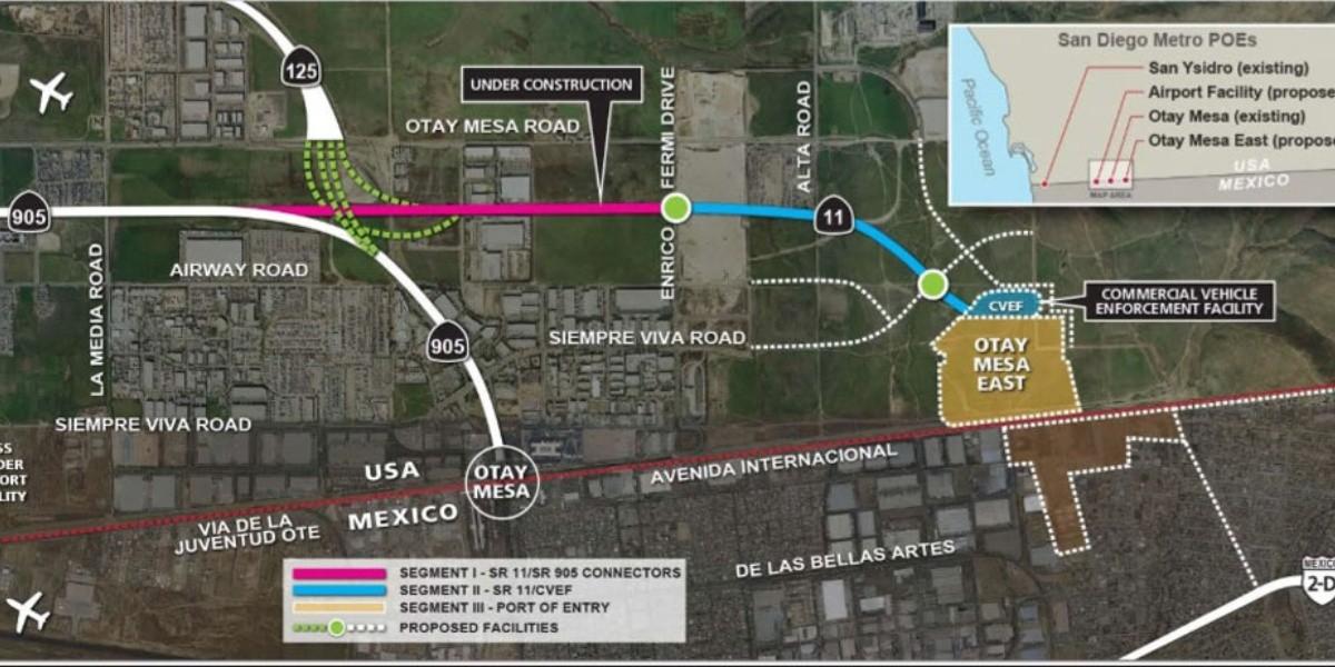 Garita Otay 2 motivará el flujo turístico: Cotuco | ELIMPARCIAL.COM |  Noticias de Tijuana, México