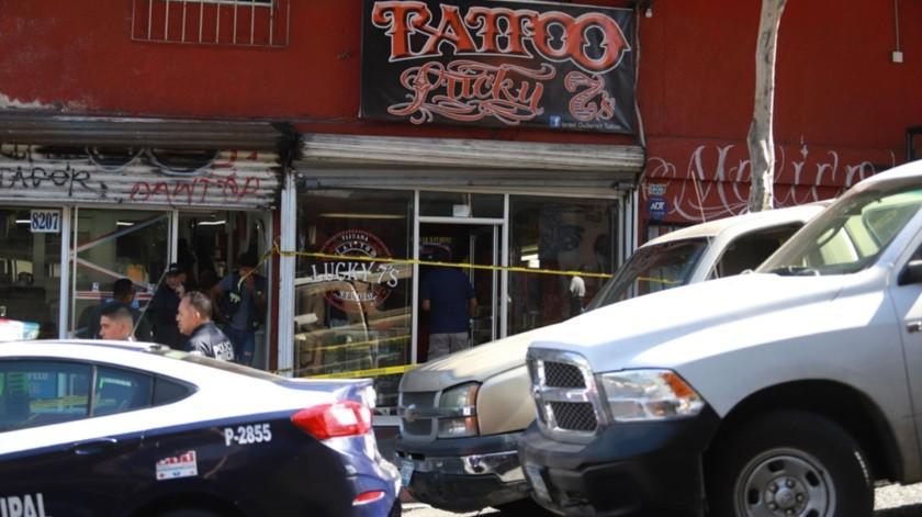 El homicidio se registró en un local de la calle Cuarta, entre Revolución y Madero.