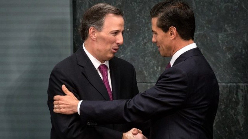 Enrique Peña Nieto y José Antonio Meade(Getty images)