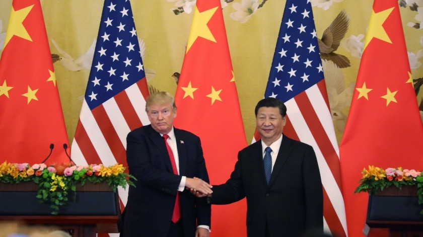 Donald Trump y Xi Jinping.(Copyright 2017 The Associated Press. All rights reserved., AP)