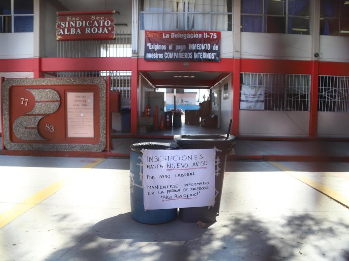 Suspenden labores en primer día de clases | ELIMPARCIAL COM