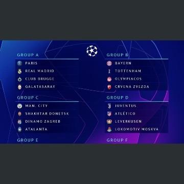 Calendario Bayern.Presentan Grupos De La Liga De Campeones 2019 20