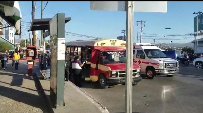 La tarde de este lunes se reportó a una persona lesionada por disparo de arma de fuego.(Margarito Martínez)