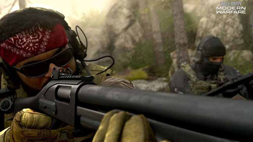 Lanzamiento de 'Call of Duty: Modern Warfare'(Tomada de la Red)