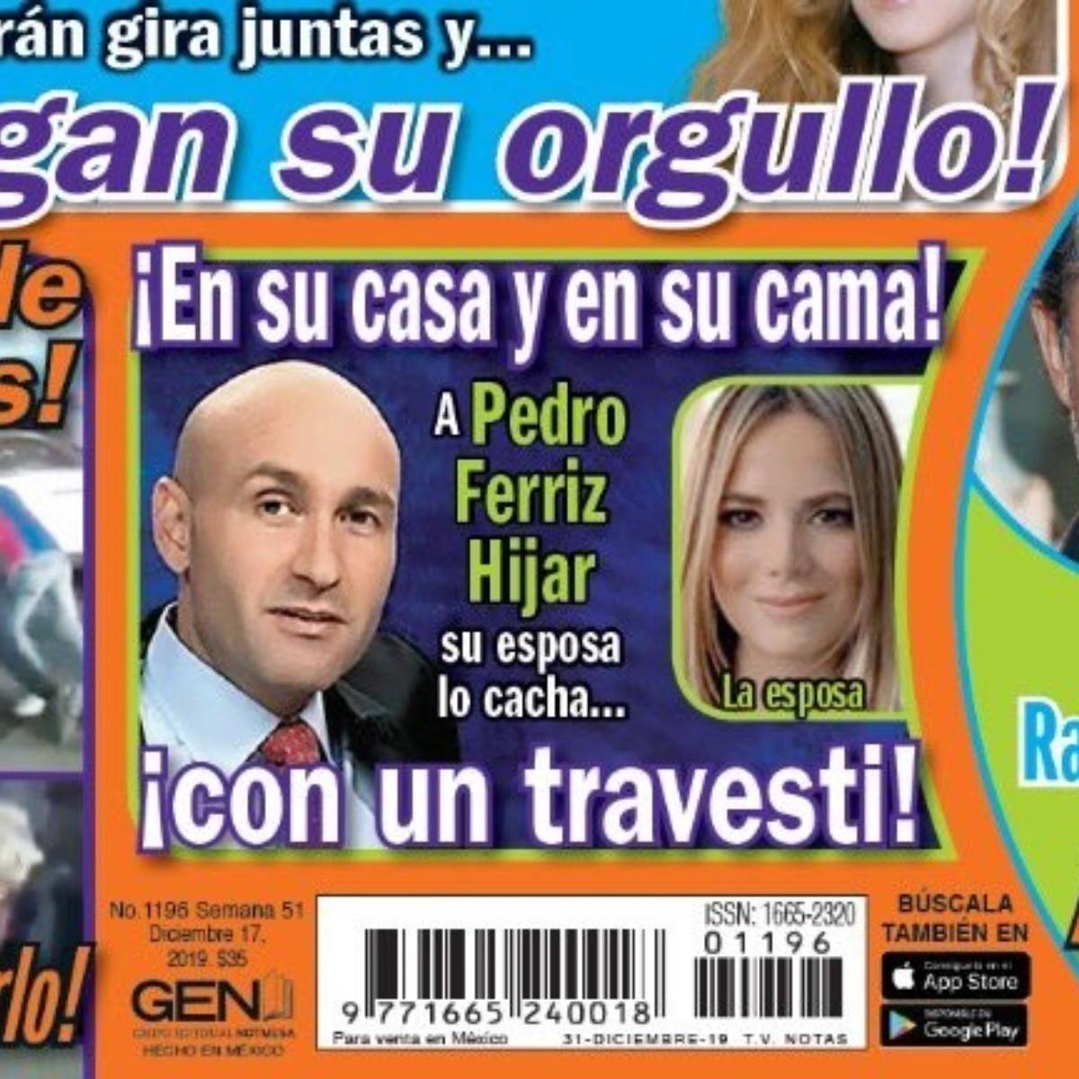 Lo cachan con un travesti!: Esposa de Pedro Ferriz Hijar vio a su ...