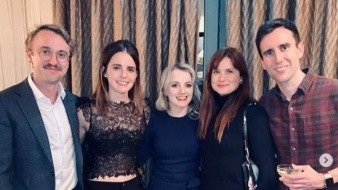Elenco de 'Harry Potter' se reúne.