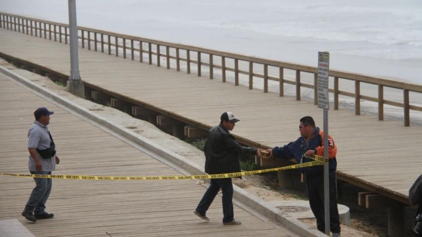 De nueva cuenta, el malecón de Playas de Tijuana fue escenario de un crimen.