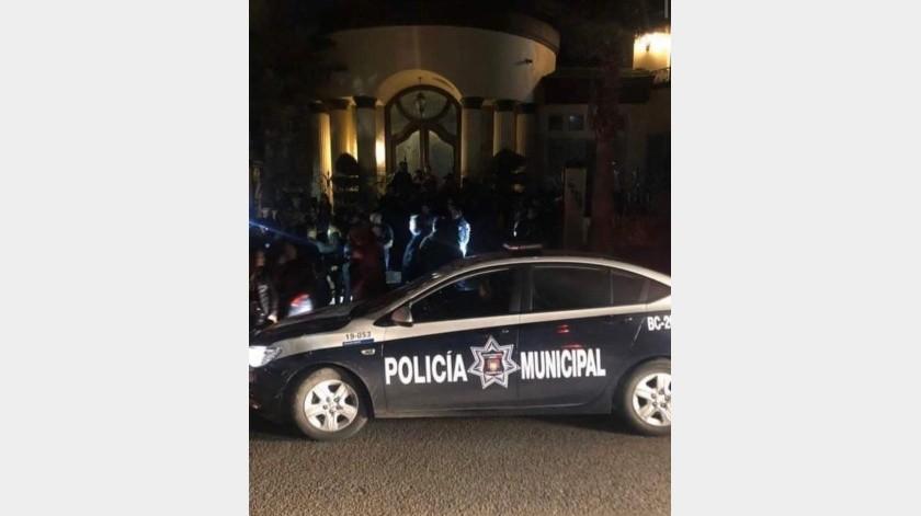 Sorprenden a menores en fiesta clandestina en Hacienda Agua Caliente(Cortesía)