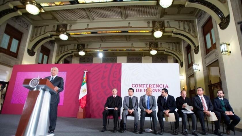 Andrés Manuel López Obrador señaló que su gobierno no protege a bandas criminales.(Cortesía)