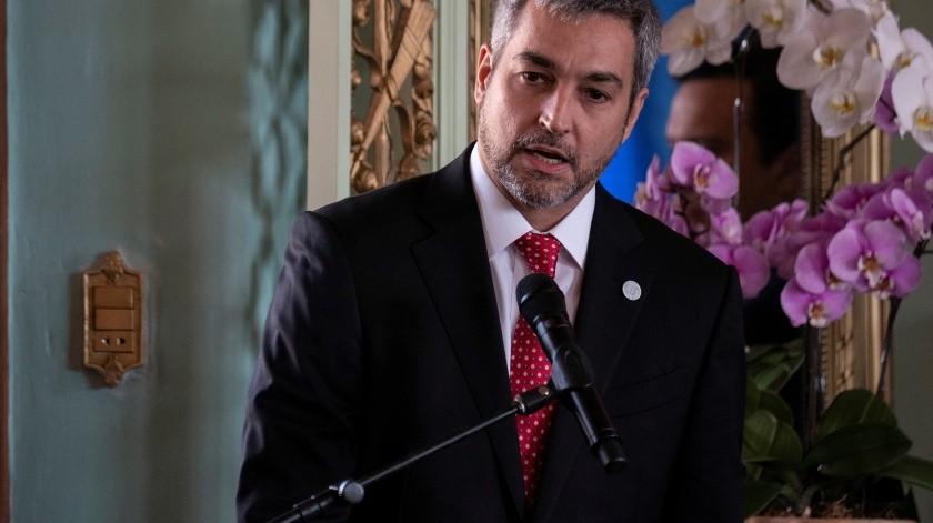 Mario Abdo Benítez(EFE, EFE)