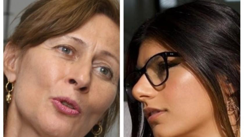 La diputada de Morena, Tatiana Clouthier, confundió a la ex actriz porno.