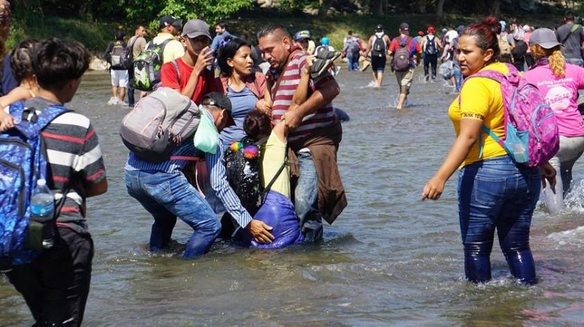 Migrantes aceptaron regresar a su país de origen.(EFE)