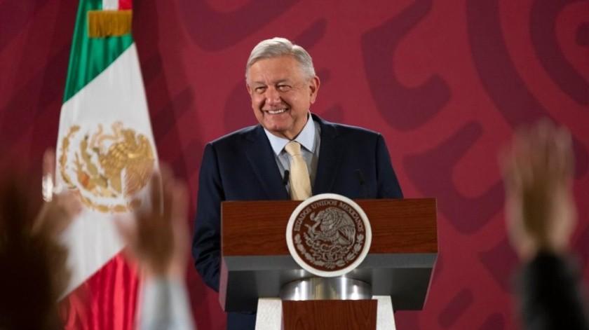 López Obrador llamó a la población a evitar dar dinero a las personas que botean en las casetas de Sonora y de todo el País.(Gobierno de México)