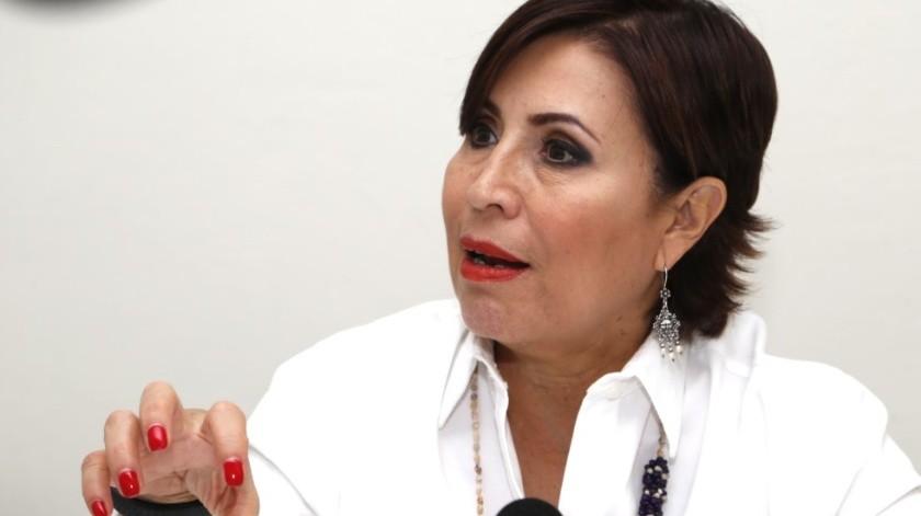 Rosario Robles, ex titular de la Sedesol.(Archivo)