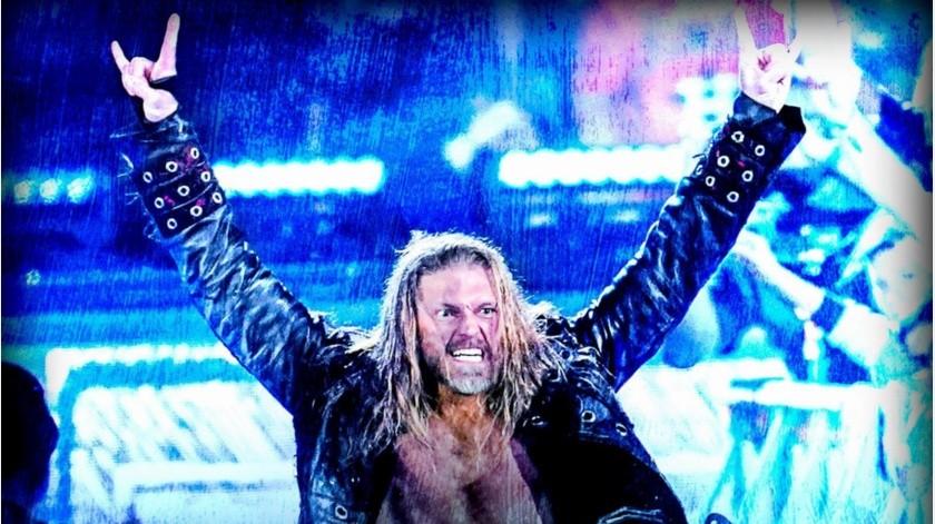 Edge fue el número 21 en el Royal Rumble.(@WWE)