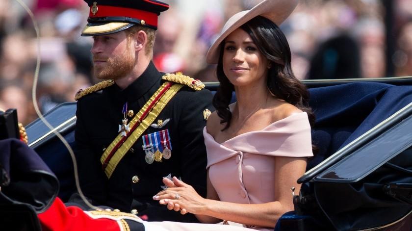 Meghan Markle y el príncipe Harry.(EFE, EPA)