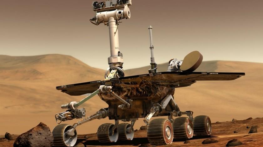 Marte posee la mitad del diámetro de la Tierra y, por ser menos denso, pesa una décima parte que ésta.(Pixabay)