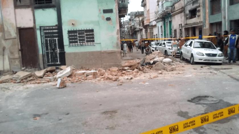 Más de seis meses antes, en mayo de 2018, se reportaron en la capital más de 100 derrumbes parciales como consecuencia de las intensas lluvias asociadas a la tormenta subtropical Alberto.(Cubanet)