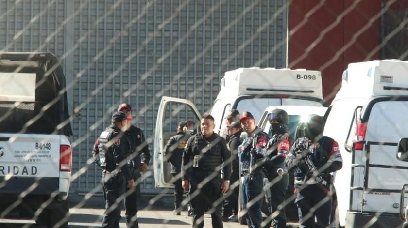 Custodios del Reclusorio Sur(Agencia Reforma)