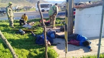 Fallecen 5 en accidente carretero en Ensenada