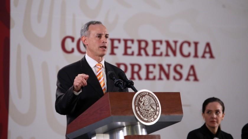 Hugo López Gatell Ramírez(Agencia Reforma)