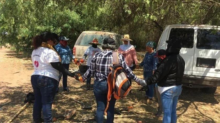 Las Rastreadoras de Cajeme ya reanudaron sus actividades.(Banco Digital)
