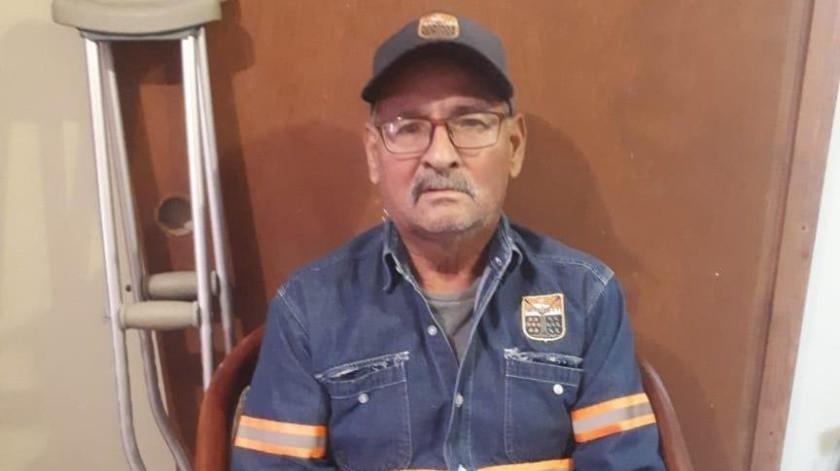 José Enrique ha sido recolector de basura por 29 años; necesita mucha ayuda