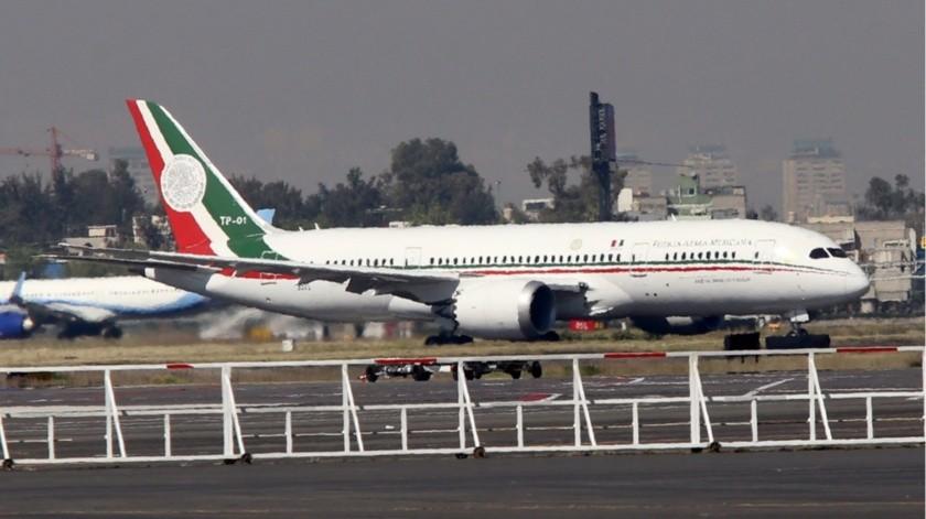 Avión presidencial(Agencia Reforma)