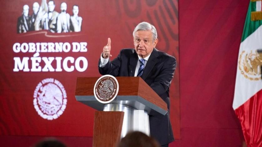 """Andrés Manuel López Obrador dijo que no se le informó sobre la boda de la hija de Joaquín """"El Chapo"""" Guzmán.(Archivo)"""