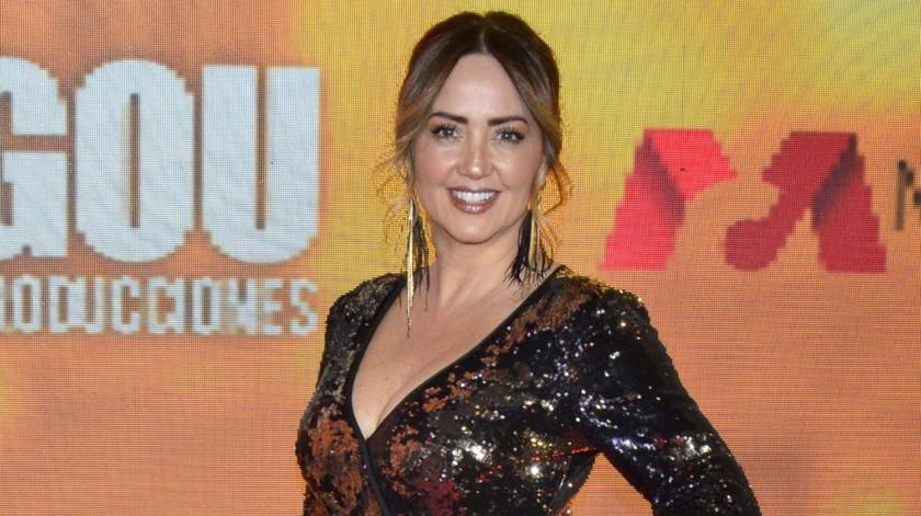 Andrea Legarreta acalla rumores sobre que es portadora de coronavirus.(Agencia México)